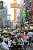 BANGKOK, THAILAND - MARCH 26: Yaowarat Road — Stock Photo