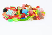 Sweet candies with copyspace — Stock Photo