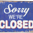 Closed - Foto Stock