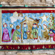 Christmas tapestry — Stock Photo