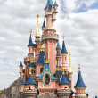 Disneyland Paris castle — Stock Photo