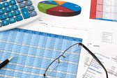 Financial audit — Stock Photo