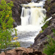 Waterfall Kivach in Karelia, Russia — Stock Photo