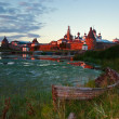 Stock Photo: Solovki. Island Zajatsky.