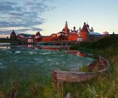 The Solovki. Island Zajatsky. — Stock Photo