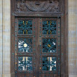 Stock Photo: Design on doors at Louvre in Paris France