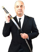 Senior business man — Stock Photo