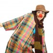 Woman clown — Stock Photo