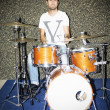 Stock Photo: Drummer