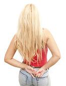 Wspaniała blondynka — Zdjęcie stockowe