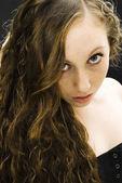 çekici kadın — Stok fotoğraf
