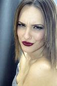 Mooie brunette meisje — Stockfoto