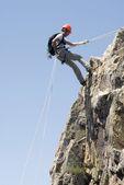 Alpinista — Fotografia Stock
