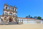 Alcobaca Monastery and Church. Unesco site, Portugal — Stock Photo