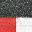 Royalty-Free Stock Photo: Texture of race asphalt and curb on Grand Prix circuit