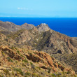 Stock Photo: Andalusicoastal landscape. Parque Cabo de Gata, Almeria.