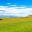 Golf St Andrews old course links. Bridge hole 18. Scotland. — Stock Photo #13312524