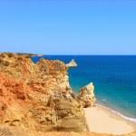 Постер, плакат: Rock Beach Praia da Rocha in Portimao Algarve Portugal