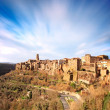 Royalty-Free Stock Photo: Tuscany, Pitigliano medieval village panorama landscape. Italy