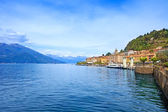 Ville de bellagio, como lake district du paysage. italie, europe. — Photo