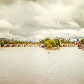 Pont neuf bridge and Seine river in Paris, France — Stock Photo