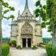 Amboise, Saint Hubert chapel, Leonardo Da Vinci tomb. Loire Vall — Stock Photo