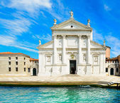 Venice, San Giorgio Church, Giudecca island, Grand Canal, Italy — Stock Photo