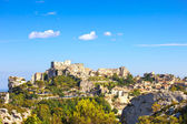 Les Baux de Provence village and castle. France, Europe. — Stock Photo