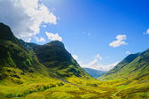 Glencoe mountain landscape in Lochaber, Scottish Higlands, Scotl — Stock Photo
