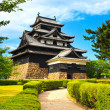 Stock Photo: Matsue samurai feudal castle and garden. Japan, Asia.