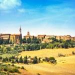 Tuscany, Pienza medieval village. Siena, Val d Orcia, Italy — Stock Photo #43270629