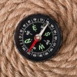 Compass and rope — Stock Photo #14056579