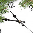 Christmas clock — Stock Photo #14293227