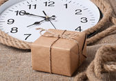Gift and watches — Stock Photo