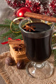Christmas mulled wine — Stock fotografie