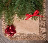 Kerstmis vintage achtergrond — Stockfoto
