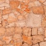 fragmento de la antigua muralla — Foto de Stock