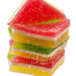 Candied fruit jelly — Stock Photo