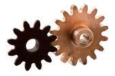 Gear unit parts — Stock Photo