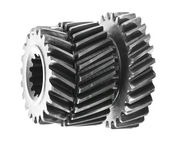 Differential gears isolated on white background — Stok fotoğraf