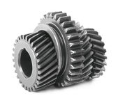 Differential gears — 图库照片