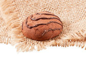 Chocolate cookie — Stock Photo