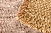 Textura ligera de lino natural para el fondo — Foto de Stock