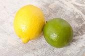 Limone e lime — Foto Stock