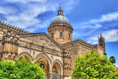 Palermo Cathedral in hdr — Stock Photo