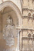 Detail of Palermo cathedral — Stock Photo