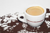 Italian coffee — Stock Photo