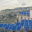 Stock Photo: View of solar panels in Madonie mountains