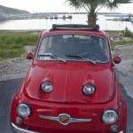 Постер, плакат: Fiat 500 car