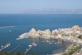 The town of Castellammare del Golfo — Stock Photo
